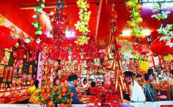 Kawasan China Town Dempo di Palembang